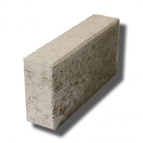 Brick concrete thick 12/6/25 cm - gray with chamfer