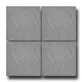 Tile pressed Moon 40/40/5 cm - gray